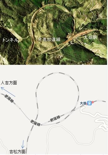 大畑駅(おこばえき)1