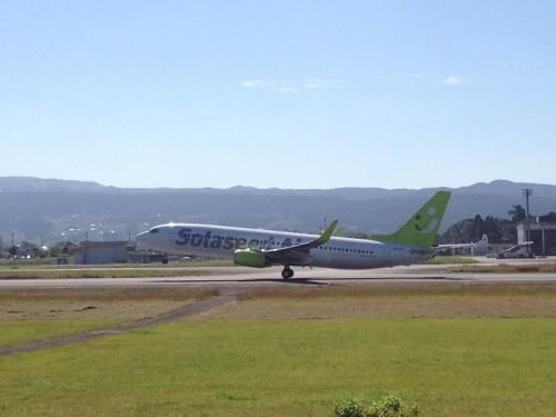 熊本空港飛行機見物2