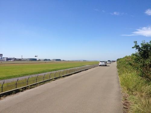 熊本空港飛行機見物4