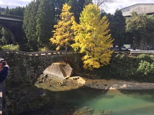 二俣福良渡の復旧工事が終了 (1)