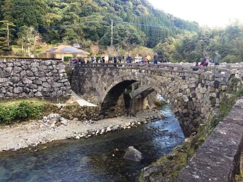 二俣福良渡の復旧工事が終了 (2)