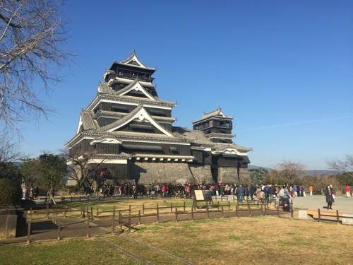 2016-1熊本城 天守閣