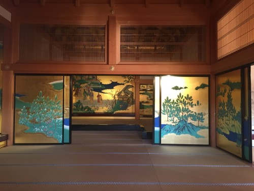 2016-1熊本城 (本丸御殿 昭君の間)