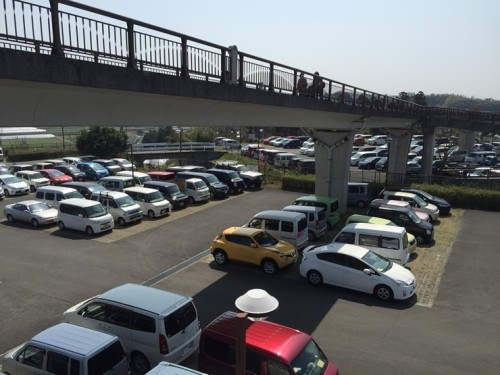 フードパル熊本 駐車場2