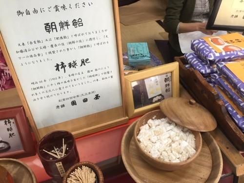 園田屋 朝鮮餅 (2)